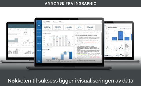 «Nøkkelen til suksess ligger i visualisering av data»